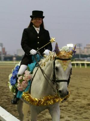 川崎競馬の誘導馬 6月開催 紫陽花Ver ユーちゃん1
