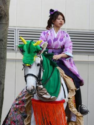 川崎競馬の誘導馬01月開催 龍Ver