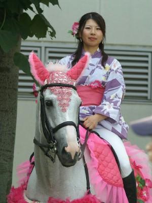 川崎競馬の誘導馬2