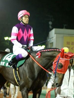 荒尾競馬代表 吉留孝司騎手